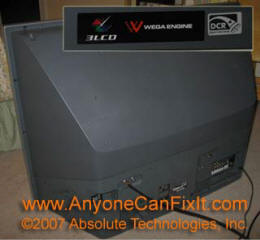 anyone can fix it post your fix rh anyonecanfixit com sony wega kdf-e42a10 lamp replacement Sony Wega KDF-E42A10 What Year