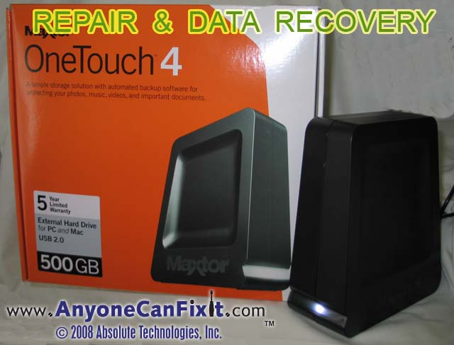 anyone can fix it post your fix rh anyonecanfixit com maxtor onetouch 4 manual Maxtor OneTouch 4 500GB Drivers