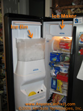 whirlpool refrigerator ice maker repair